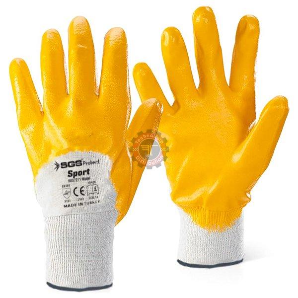 Paire de gants latex sport T10 SGS7211 tunisie