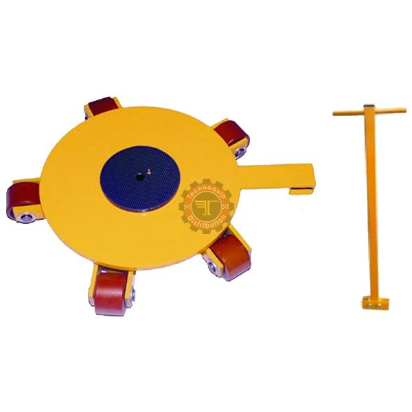 Chariot manutention à plateau et galets rotatifs tunisie