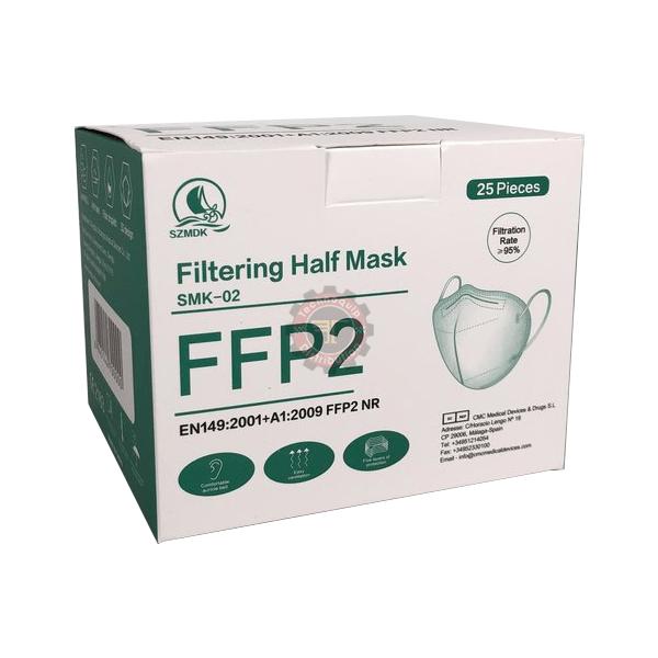 Demi-masque filtrant SMK-02 FFP2 tunisie