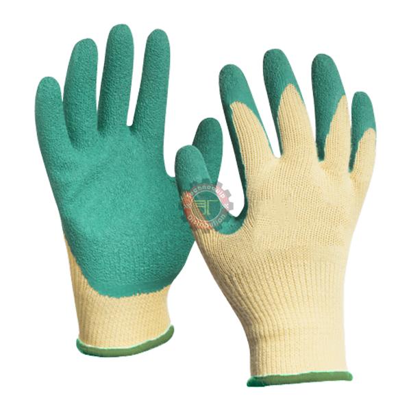 Gant paume et doigts en enduction latex tunisie