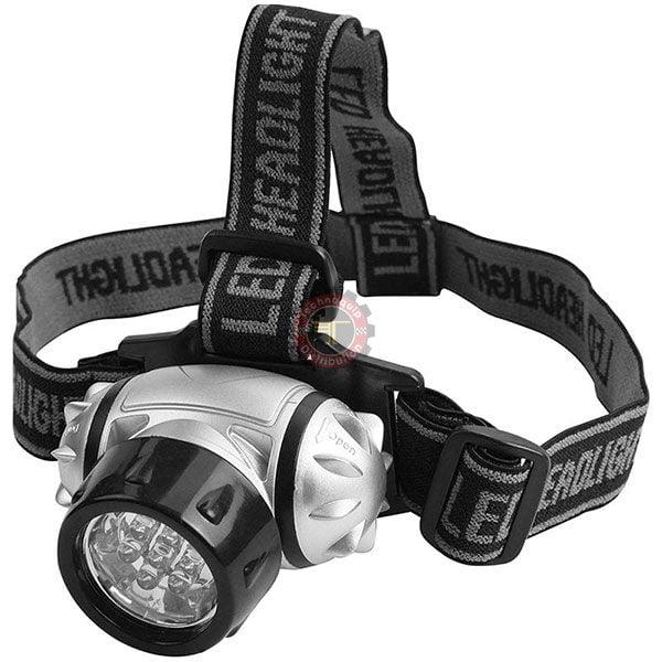 Lumière de tête 7 LED blanche tunisie